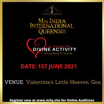 MIIQ DIVINE ACTIVITY 1ST JUNE