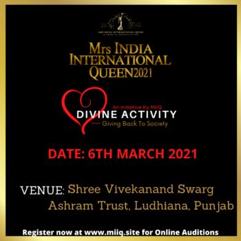 MIIQ DIVINE ACTIVITY 6TH MARCH